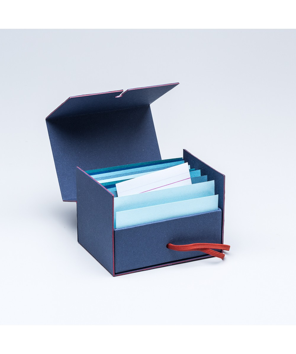 Fil rouge Business card box - Various - Products